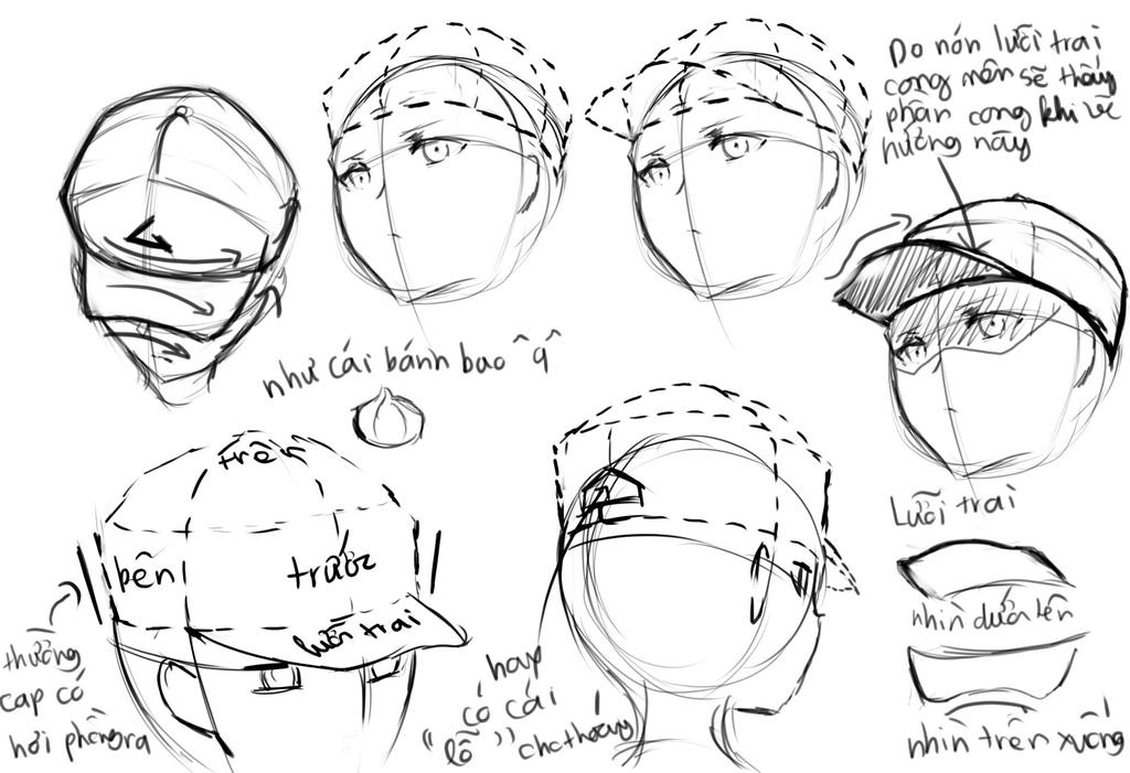 Cap hat by Krissin