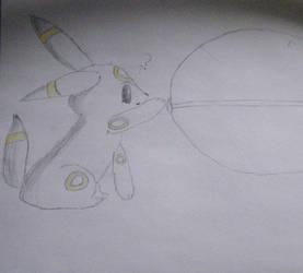 [Pokemon] Umbreon by Ecelea