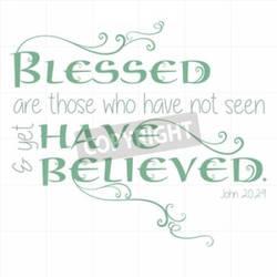 John 20:29 Inspirational Scripture 50638005