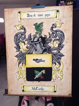 McCurdy Family Crest