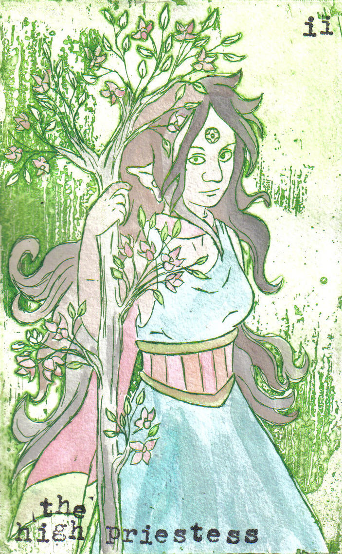 The High Priestess by persephone-the-fish