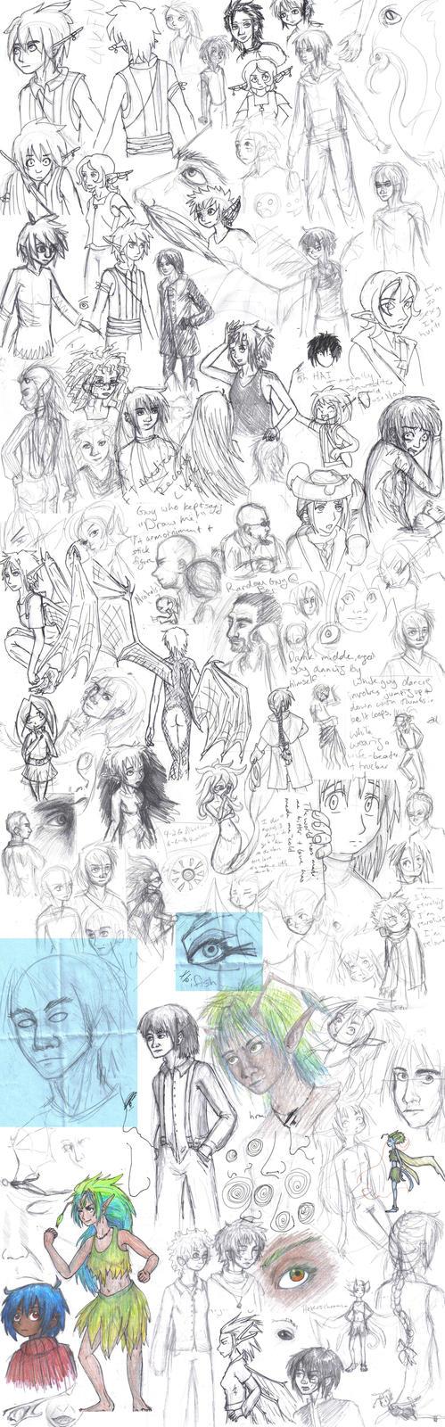 Doodle Slushy VIII by persephone-the-fish