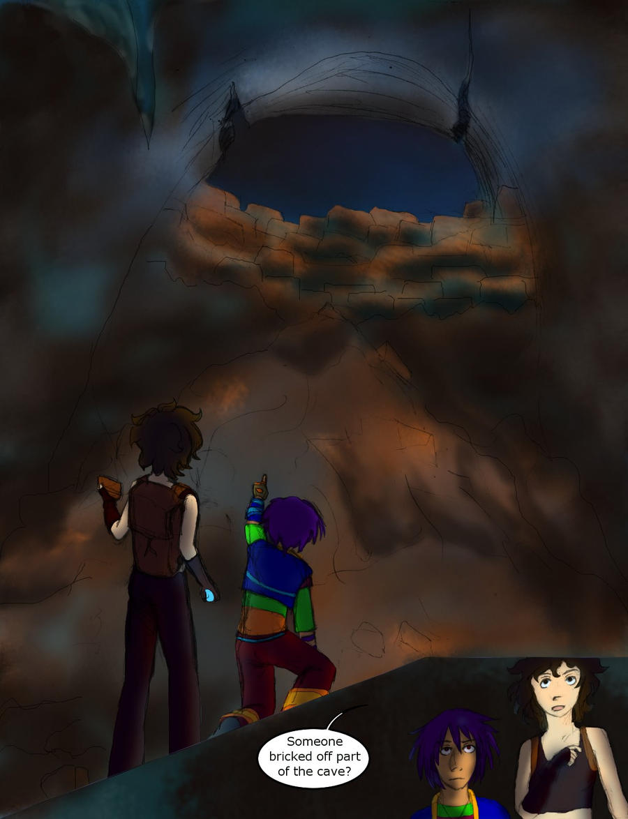Spelunking 14 by persephone-the-fish