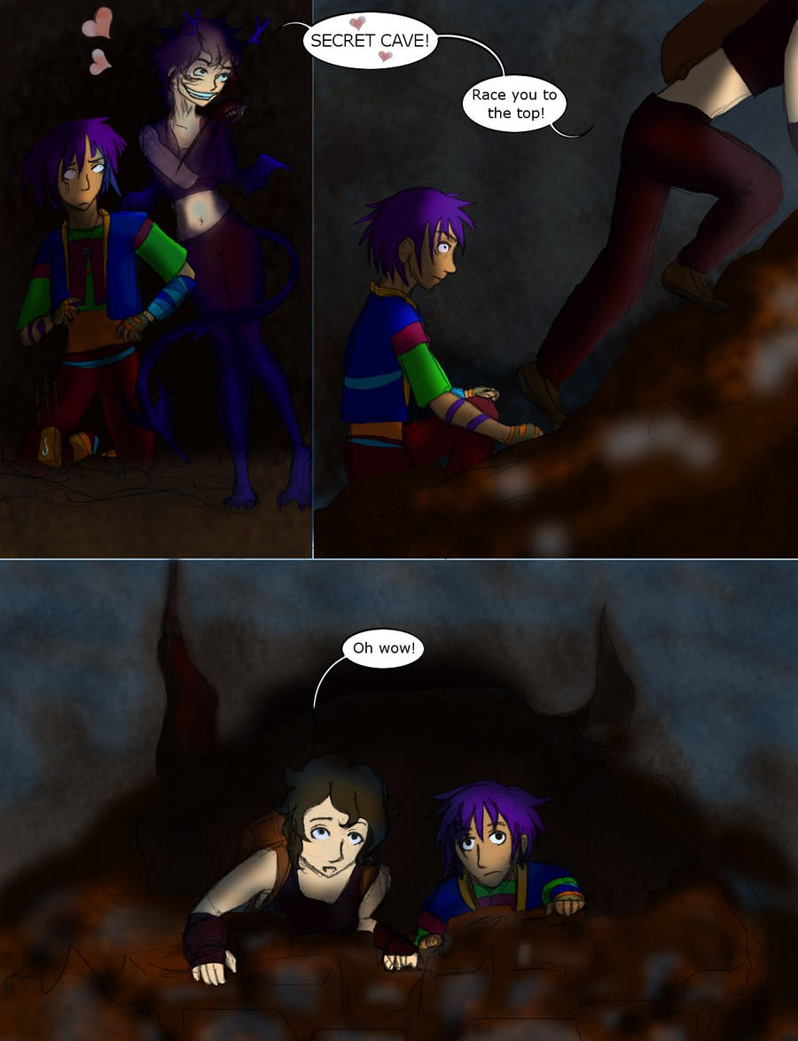 Spelunking 15 by persephone-the-fish