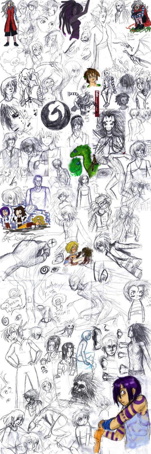 Doodle Slushy XII by persephone-the-fish