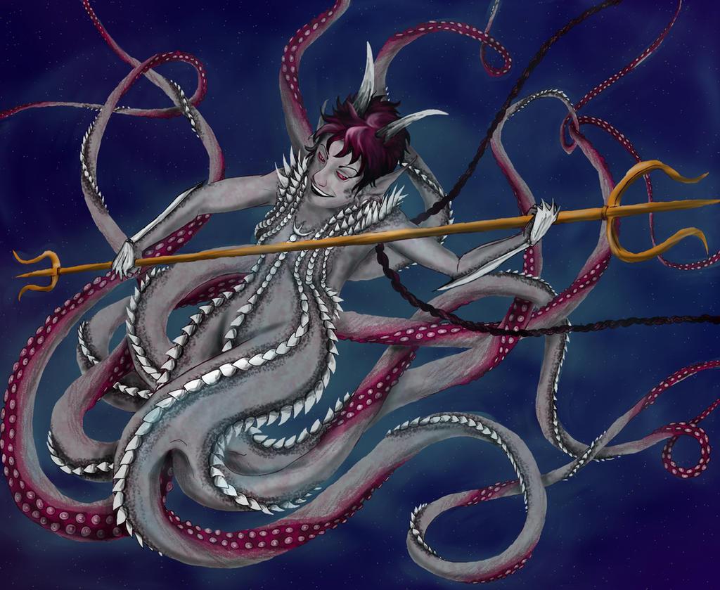 Demon Meenah by persephone-the-fish