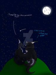 Lovers under the moonlight (Gift Art)