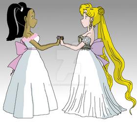 Princess Charity meets Princess Serenity