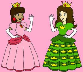 Princess Cherry meets Princess Crown