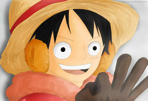 ONE PIECE, Luffy - I'm gonna defeat all of them!!!