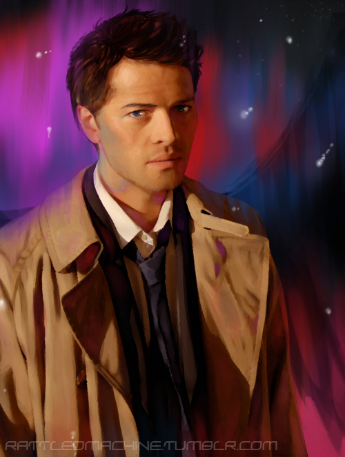 SPN: Castiel by RattledMachine