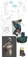 Art dumpage by RattledMachine