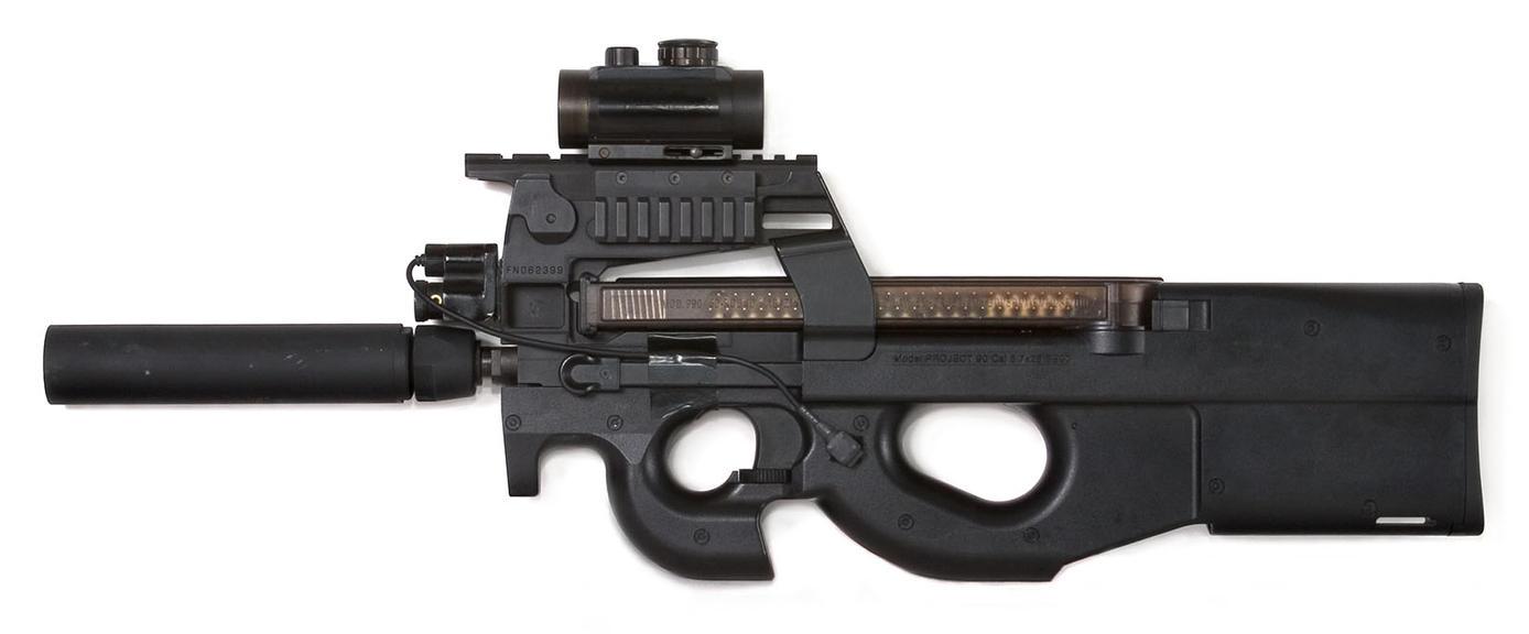 P90 Tripple Rail Side Shot By Djmonkeyboy On DeviantArt