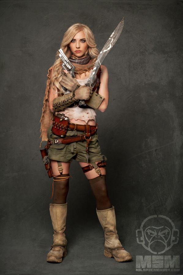 MSM Zombie Hunter Extras - Whitney Cordray 3699m by djmonkeyboy