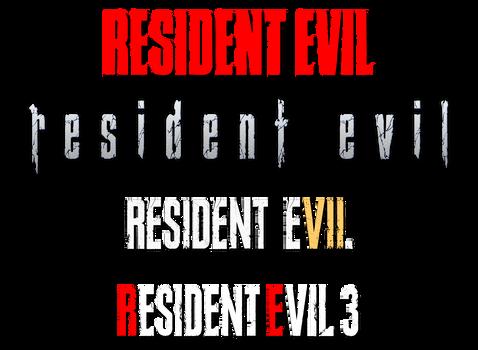 Resident Evil Titles