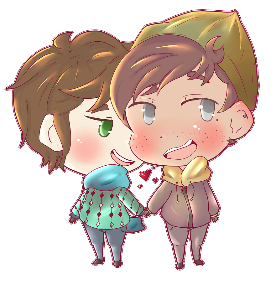 LH Winter Boyfriends by SkySki25