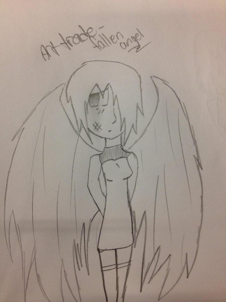 Art trade- fallen angel (izumiseiko) by Unknowndemon626