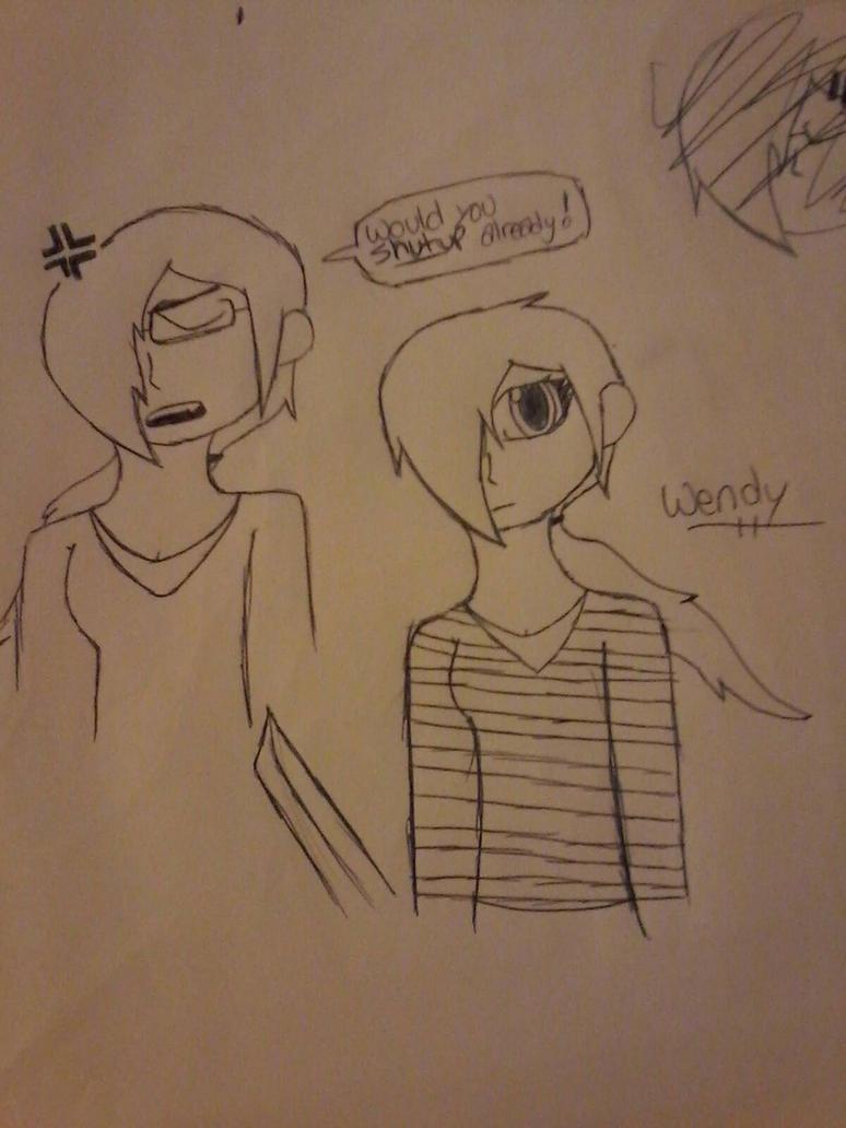 Wendy (Sk8man202 art trade) by Unknowndemon626