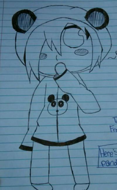 Panda by Unknowndemon626