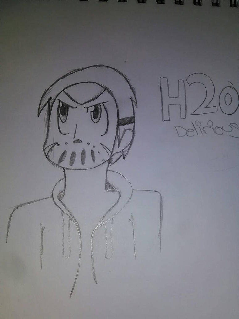 H2o Delirious (Sk8man202 request) by Unknowndemon626
