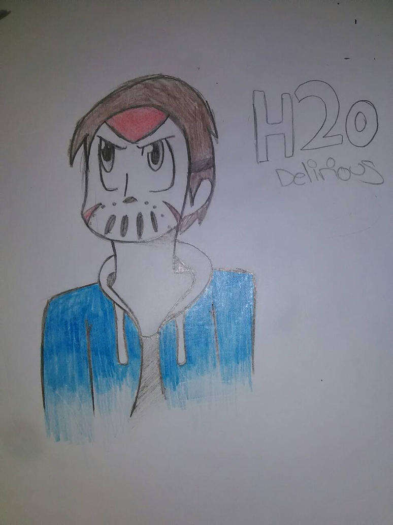 H2o Delirious (w/ color) by Unknowndemon626