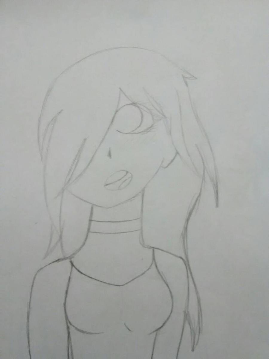 Cassie (rough sketch) by Unknowndemon626