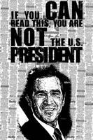 President Bush Poster by triplex1121