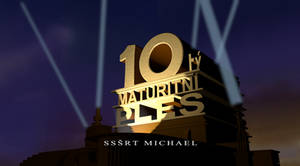 10ty Maturitni Ples Logo Remake