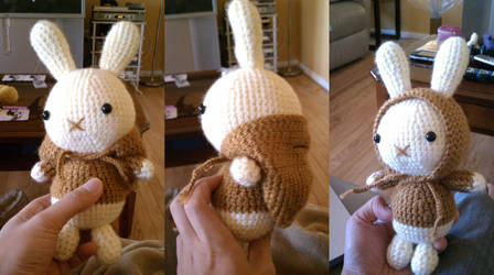 Amigurumi Chocolate Bunny