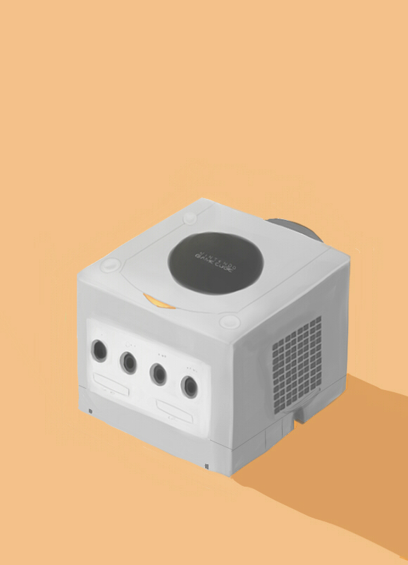 Nintendo Gamecube by Abstractmeow