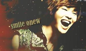 Onew smile signature by NANAKiryu