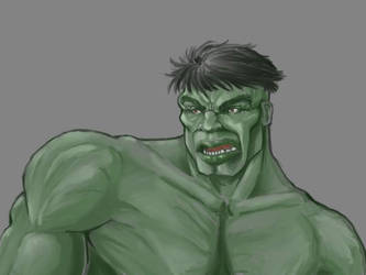 The Hulk by indian-prophet
