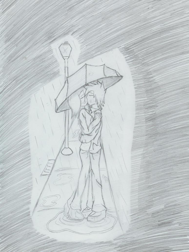 Kiss In The Rain by Sonamygx13 on deviantART