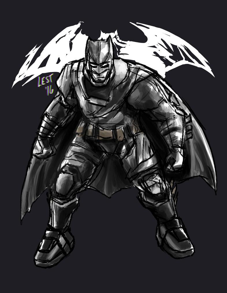 Buffman AKA Batman by rakenji008