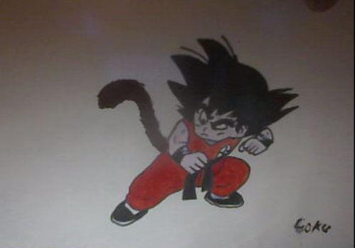 Goku Kid by arranboi123