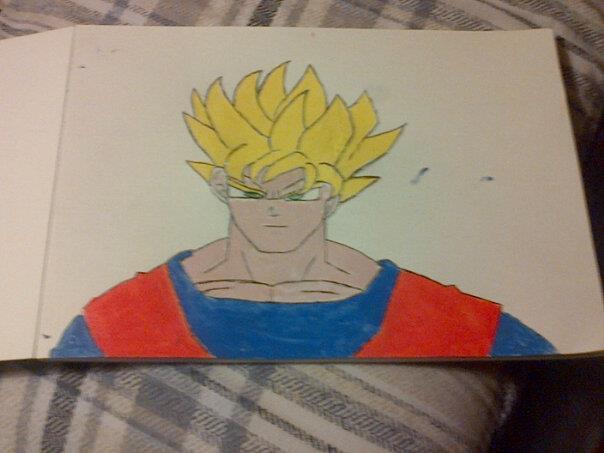 Goku by arranboi123