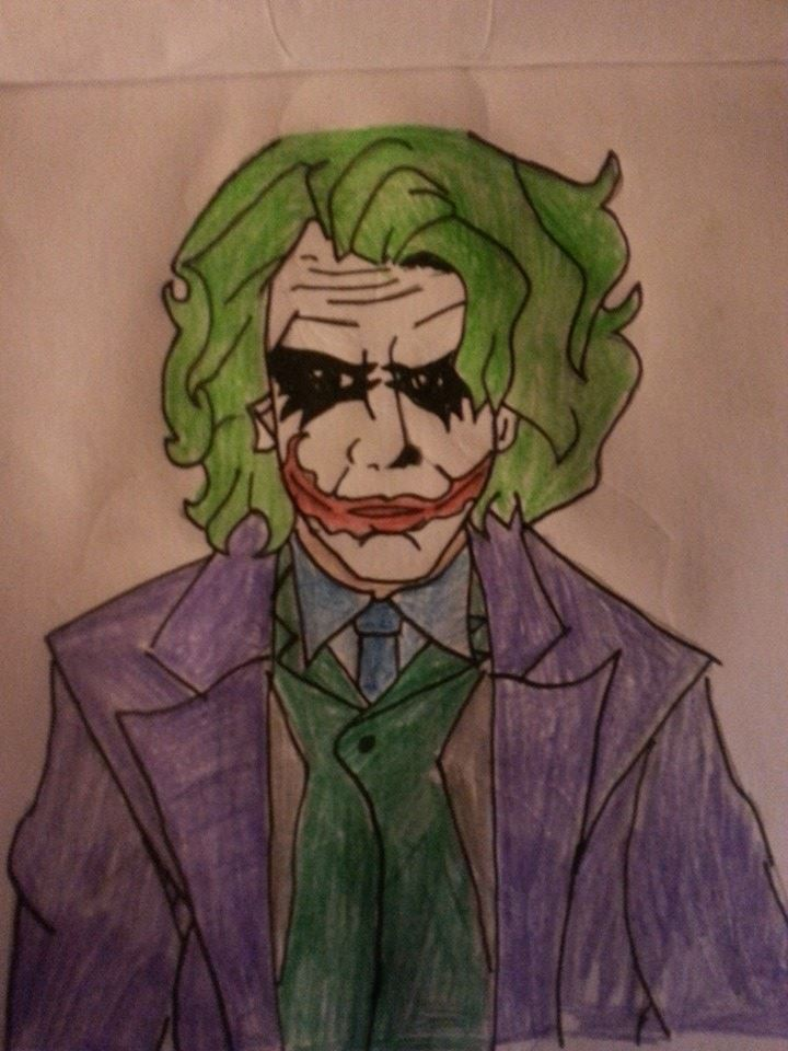 the Joker by arranboi123