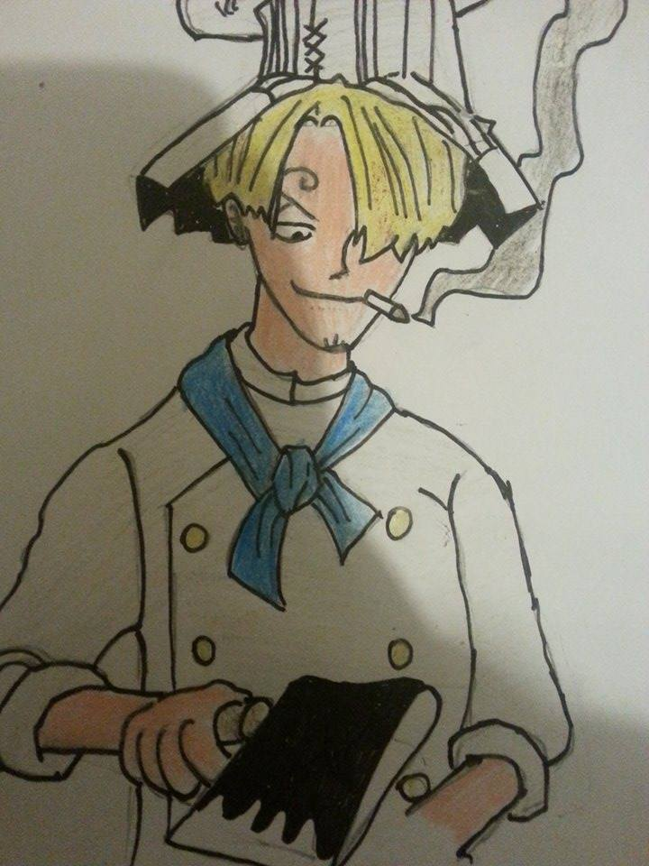 Chef Sanji by arranboi123