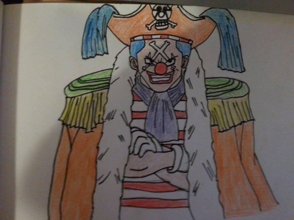 Buggy The Clown by arranboi123