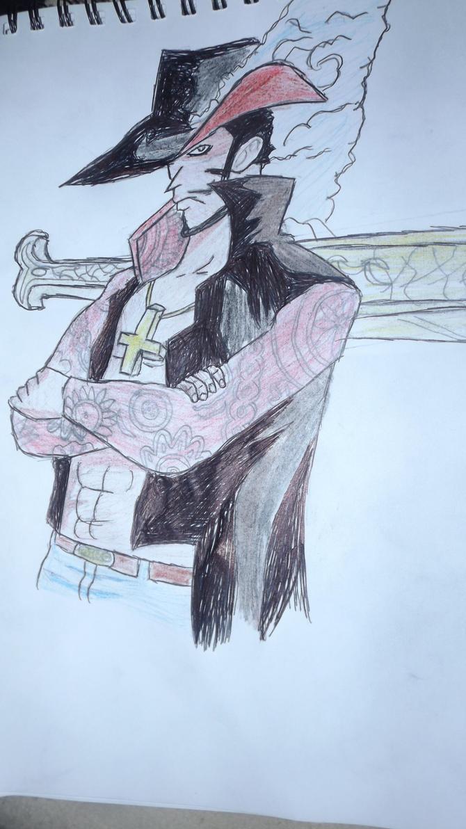 mihawk by arranboi123