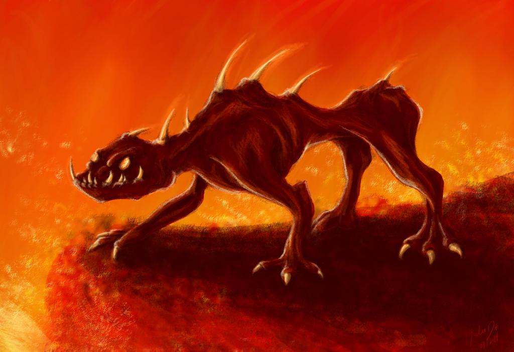 Hell crawler by blakdragoon