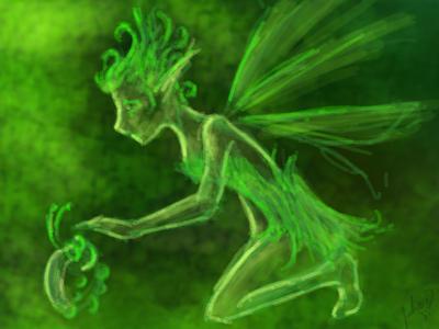 Fairy by blakdragoon
