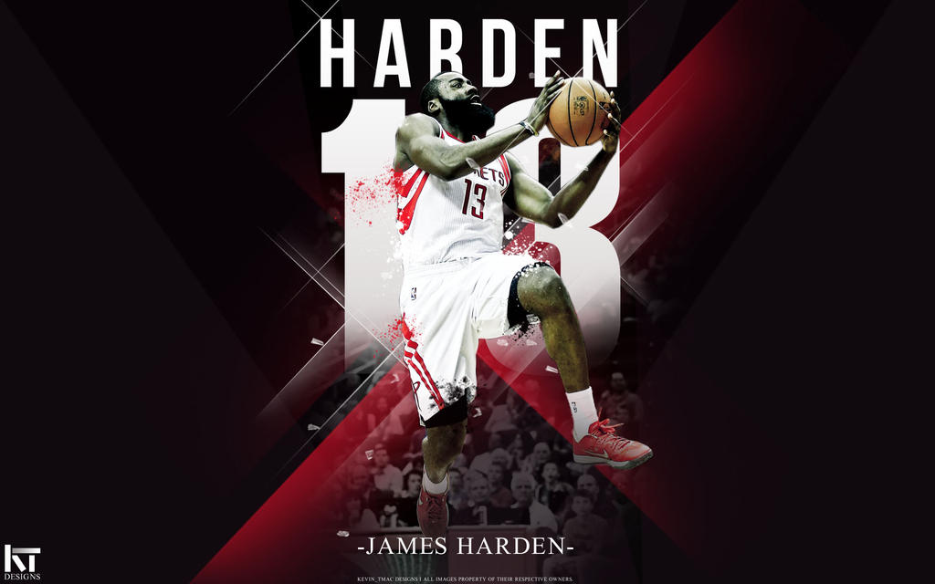 James harden wallpaper by kevin tmac on deviantart