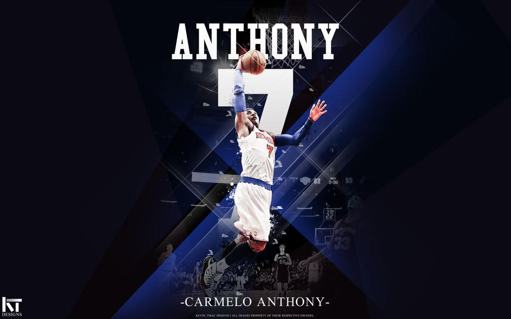Carmelo Anthony By Kevin Tmac