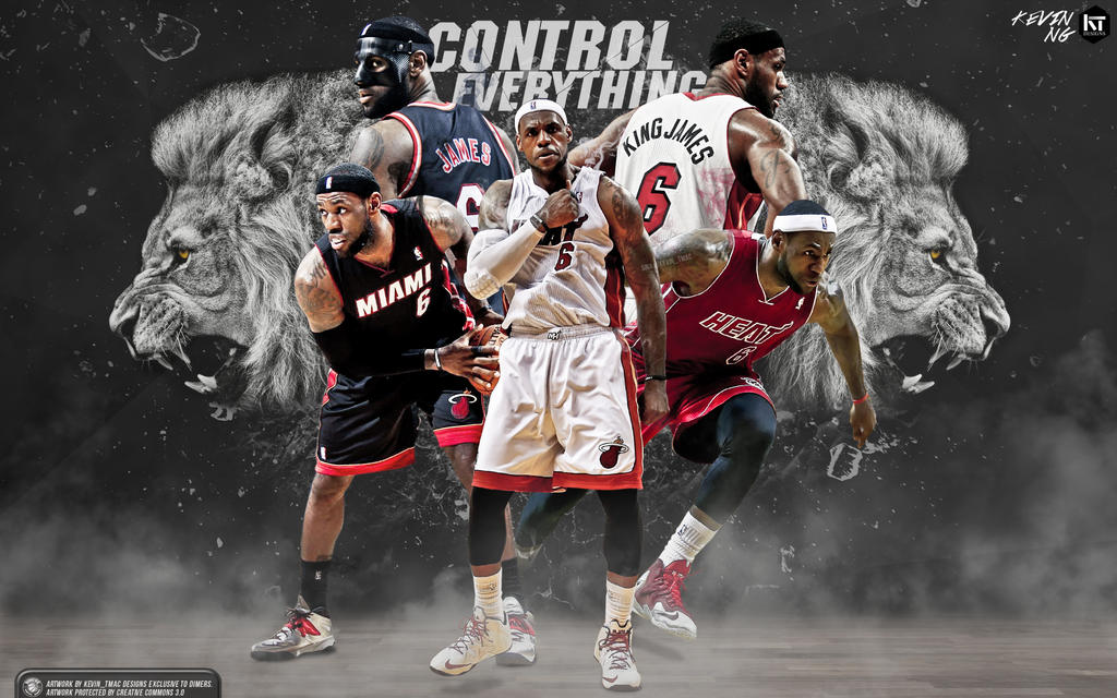 LeBron James Control Everything Wallpaper By
