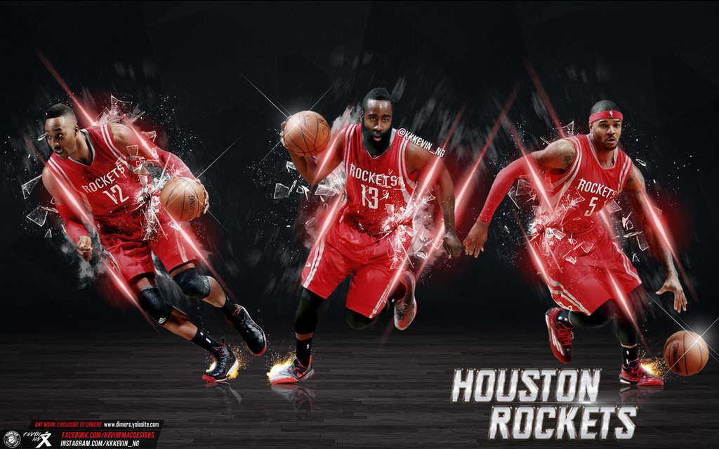 houston rockets wallpaper by kevin tmac on deviantart