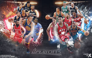 NBA Playoffs wallpaper by Kevin-tmac