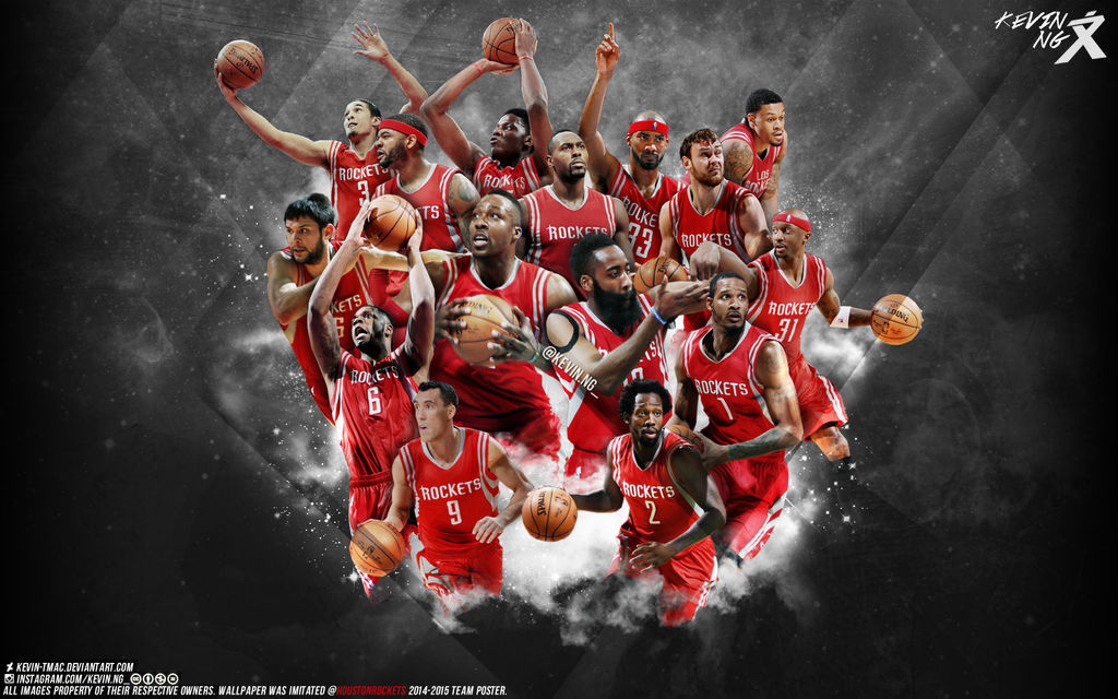 Houston Rockets 2014-2015 team wallpaper by Kevin-tmac on ...