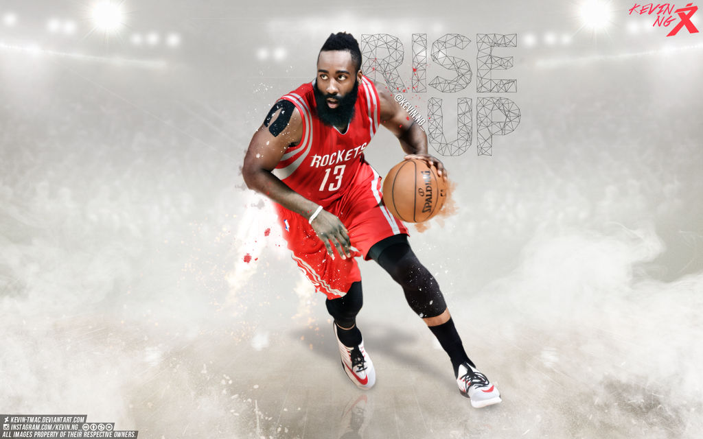 James Harden Rise Up Wallpaper by Kevin-tmac ...