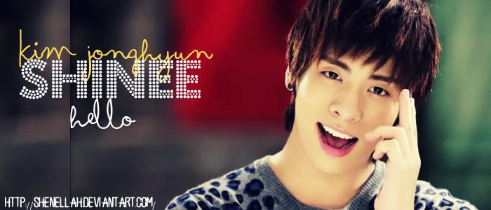 kim jonghyun hello sig by shenellah
